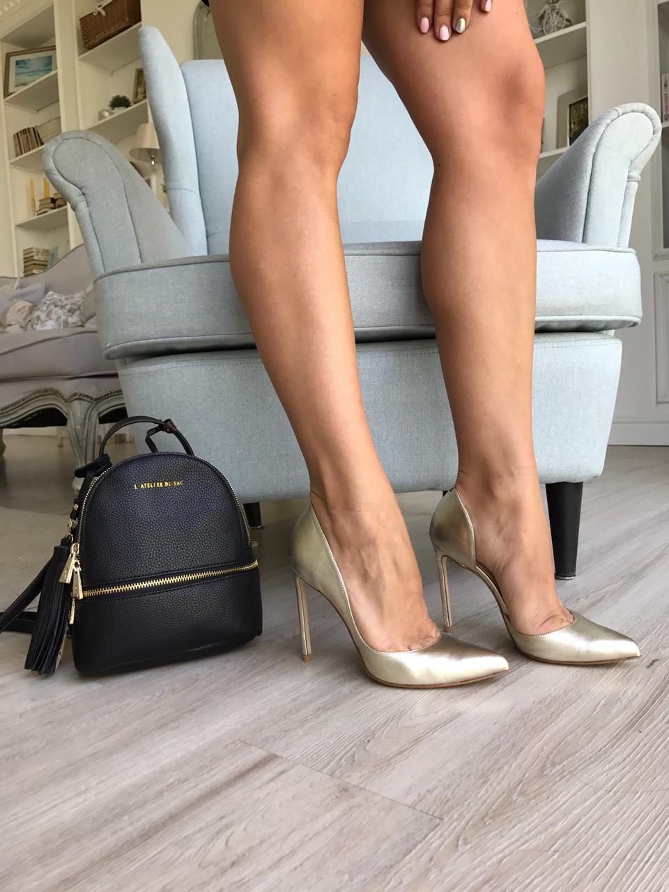 Купить со скидкой Туфли женские кожа