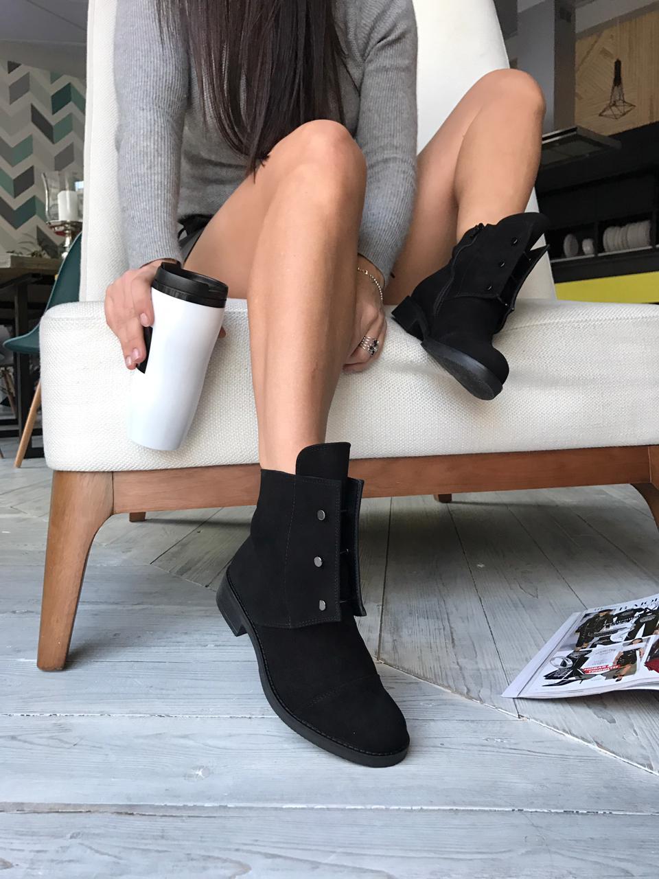 Купить Ботинки женские замша, YourBox