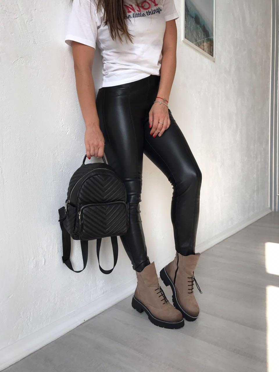 Купить со скидкой Ботинки женские нубук