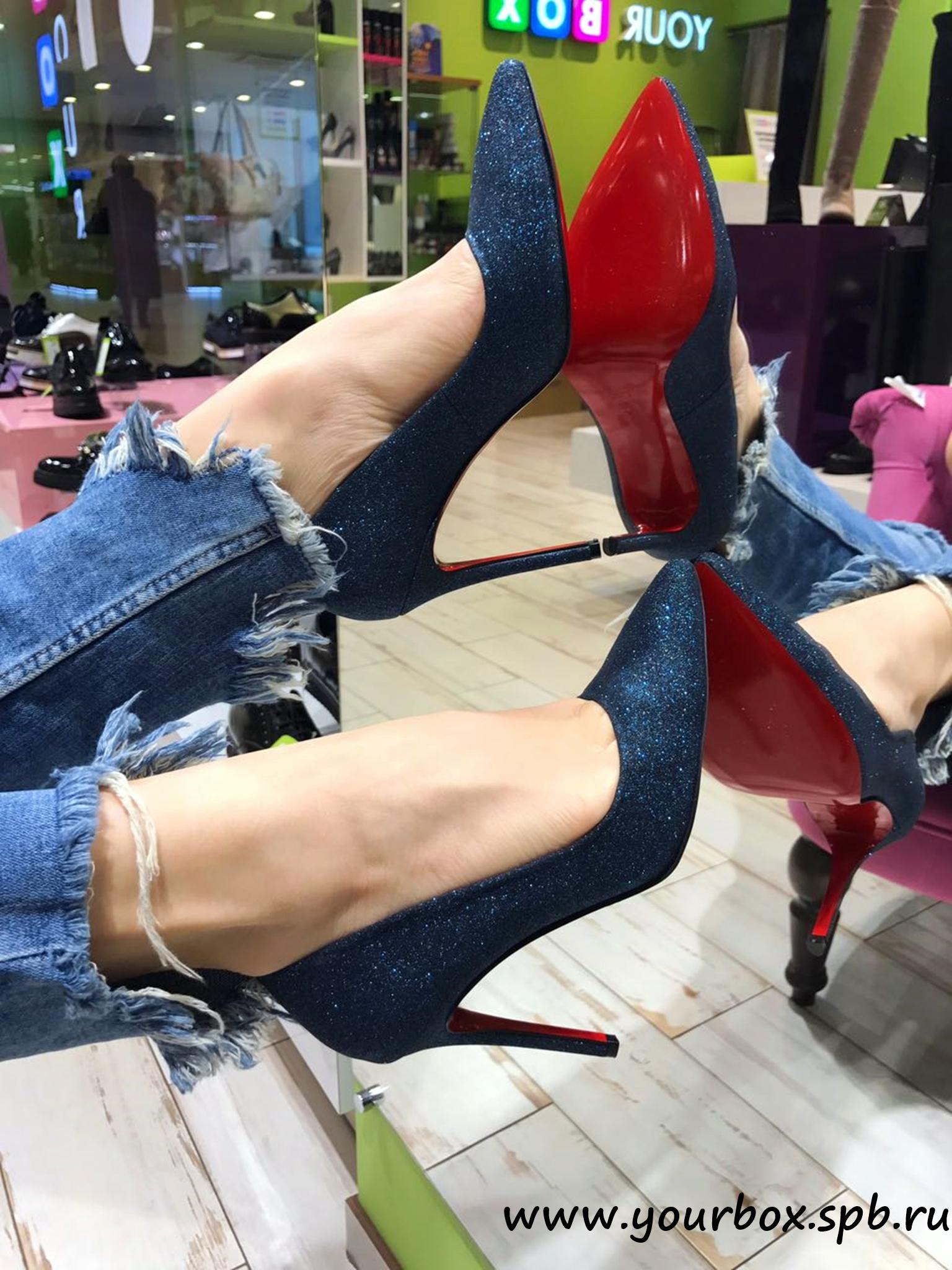 Купить Туфли женские текстиль, YourBox
